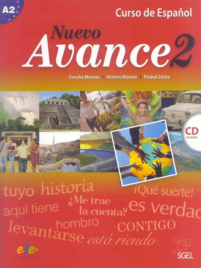 Nuevo Avance 2 Libro del alumno +D nuevo espanol 2000 medio libro del alumno d