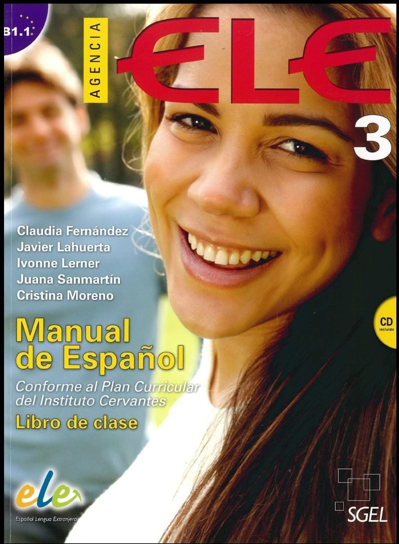 Agencia Ele 3: Student Book (+ CD-ROM) agencia ele basico exercises book cd