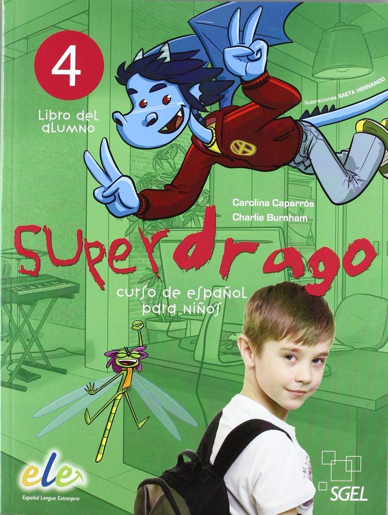 цены Superdrago 4 Libro del Alumno