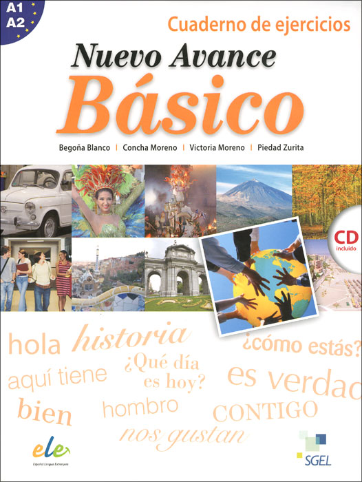 Nuevo Avance Basico: Cuaderno de ejercicios: Nivel A1 A2 (+ CD)