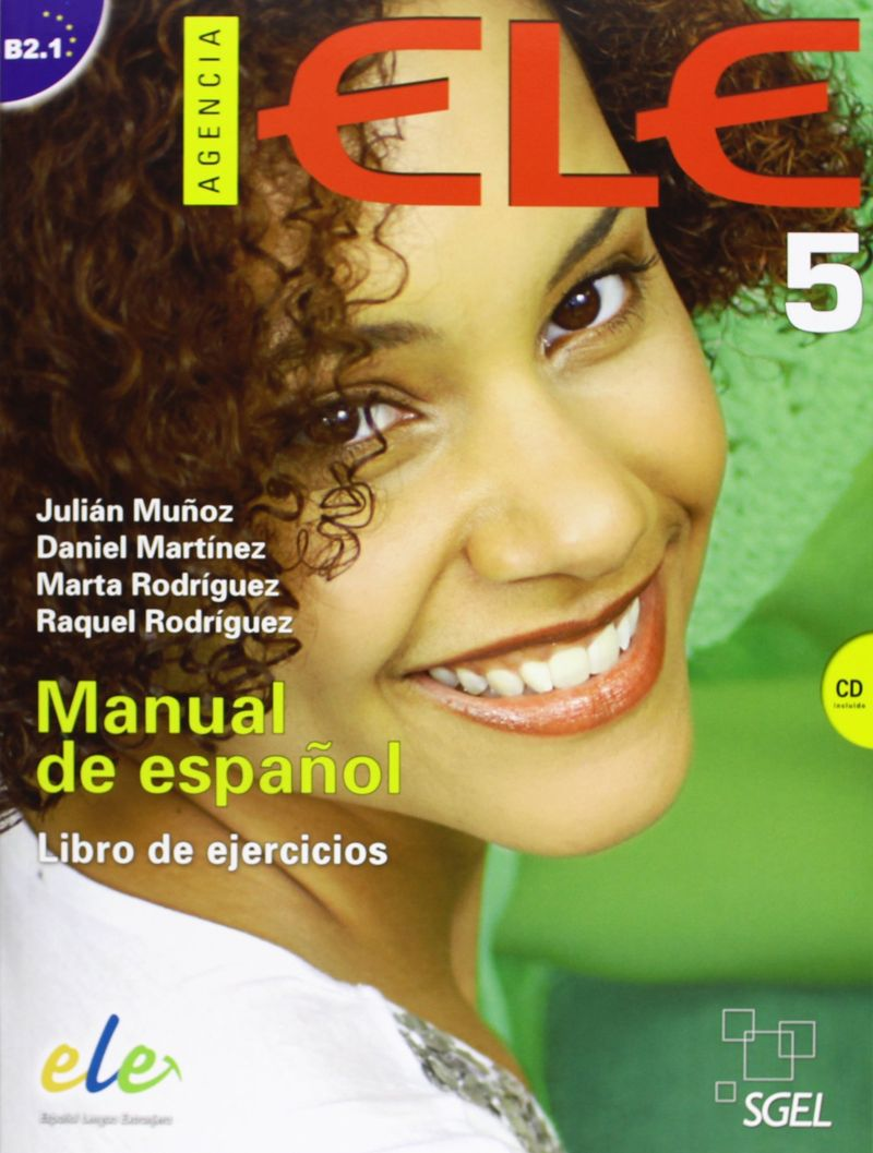 Agencia ELE 5: Manual de espanol: Nivel B2.1: Libro de ejercicios (+ CD) jiqi household environmentally healthy manual slow orange juicer extractor eletrodomestico de cozinha machine colorful