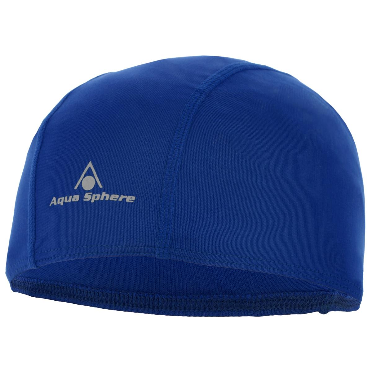 Шапочка для плавания Aqua Sphere Easy Cap, детская, цвет: синийSP 946055 BLДетская шапочка для плавания Aqua Sphere Easy Cap традиционной формы изготовлена из высококачественного прочного полиэстера. Материал делает ее легкой и суперэластичной.