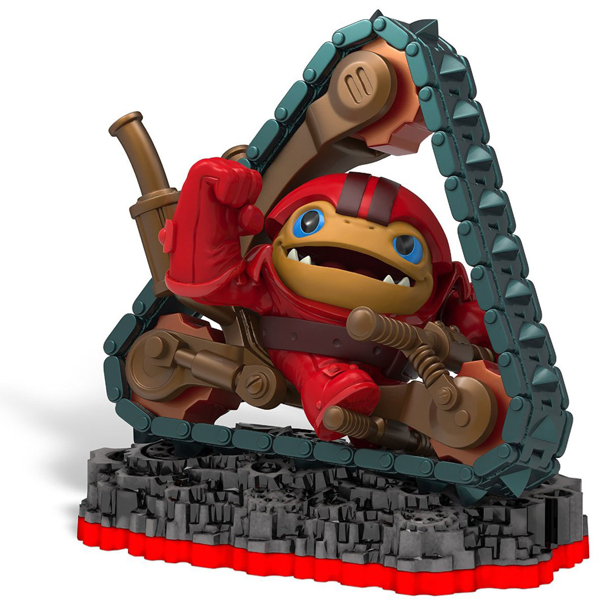 Skylanders Trap Team. Интерактивная фигурка Tread Head, Toys For Bob