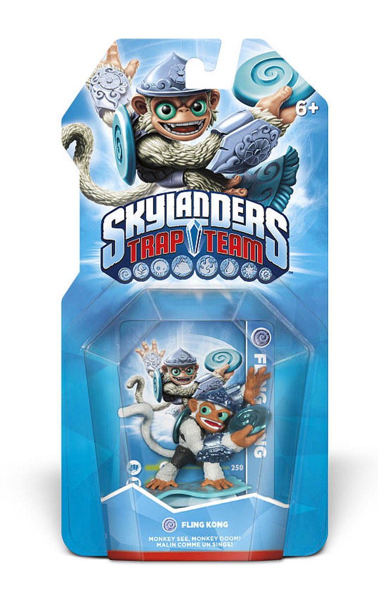 Skylanders Trap Team. Интерактивная фигурка Fling Kong Toys For Bob