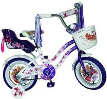 Велосипед детский Navigator Winx Purple/WhiteВН12074ККВелосипед Navigator Winx - двухколесный (12 дюймов), отлично подойдет для активной прогулки вашего ребенка, он стильный, изящный, яркий, обязательно придется по душе вашему малышу. Рассчитан на детишек от трех лет. Велосипед изготовлен из металла, что дает ему устойчивость к повреждениям. У велосипеда мягкое, регулируемое сиденье, боковые страховочные колесики, багажник и корзина на руле для различных принадлежностей вашего ребенка, защита цепи.