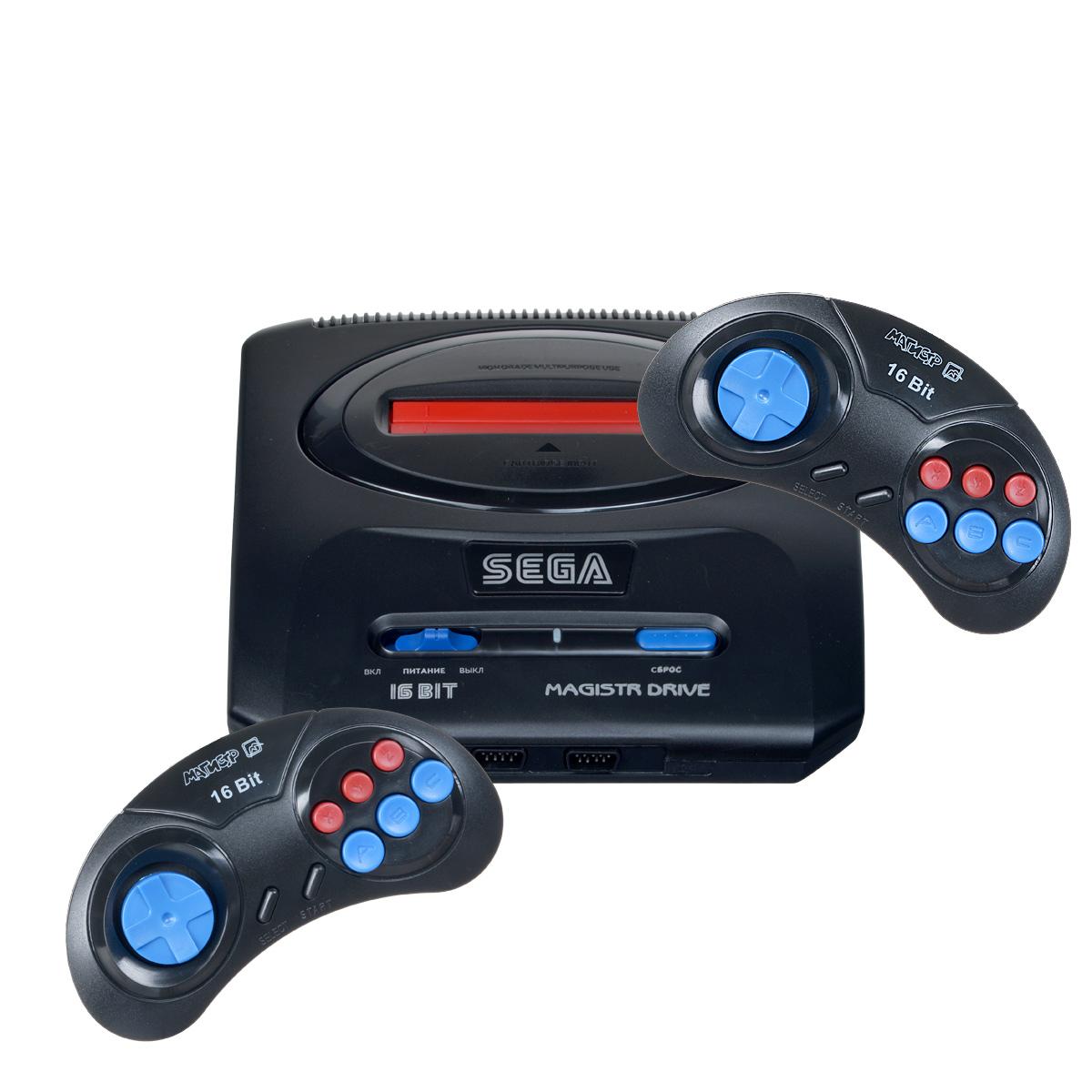 Игровая приставка Sega Magistr Drive 2 160 игр игровая консоль sega magistr drive 2 lit 65 игр