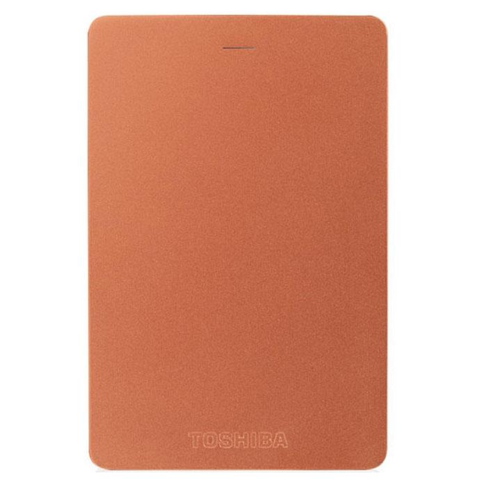 Toshiba Canvio Alu 1TB, Red внешний жесткий диск (HDTH310ER3AA) - Носители информации