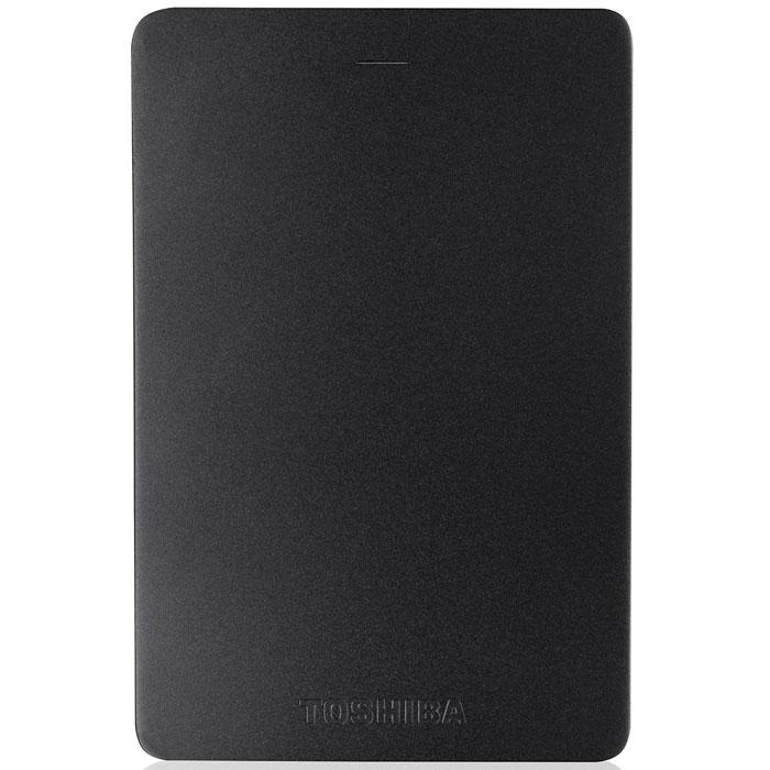 Toshiba Canvio Alu 2TB, Black внешний жесткий диск (HDTH320EK3CA) - Носители информации