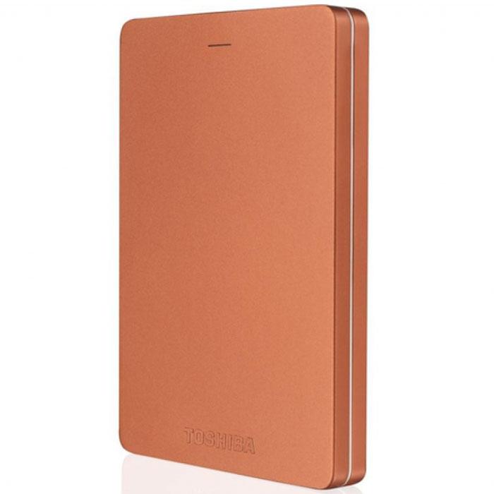 Toshiba Canvio Alu 500GB, Red внешний жесткий диск (HDTH305ER3AA) - Носители информации