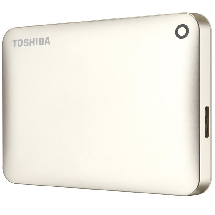 Zakazat.ru Toshiba Canvio Connect II 2TB, Gold внешний жесткий диск (HDTC820EC3CA)