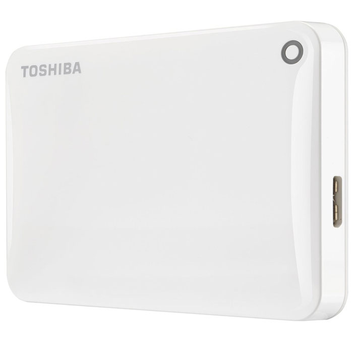Zakazat.ru Toshiba Canvio Connect II 500GB, White внешний жесткий диск (HDTC805EW3AA)