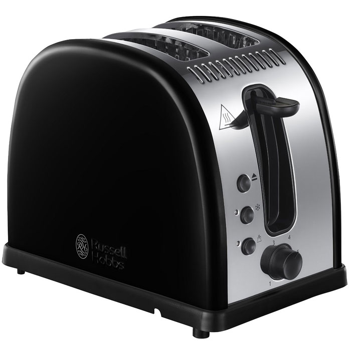 Russell Hobbs 21293-56 Legacy, Black тостер еда быстрого приготовления