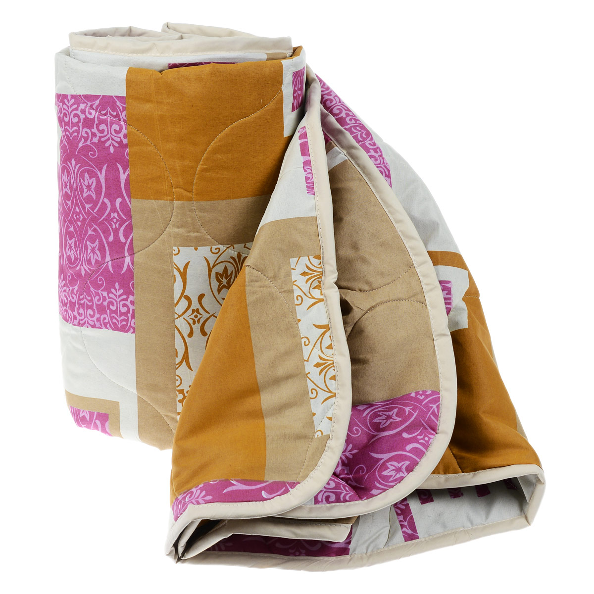Одеяло всесезонное OL-Tex Miotex, наполнитель: полиэфирное волокно Holfiteks, цвет: коричневый, оранжевый, 172 см х 205 смМХПЭ-18-3 коричневый, оранжевыйВсесезонное одеяло OL-Tex Miotex создаст комфорт и уют во время сна. Стеганый чехол выполнен из полиэстера и оформлен красивым рисунком. Внутри - наполнитель из полиэфирного высокосиликонизированного волокна Holfiteks, упругий и качественный. Холфитекс - современный экологически чистый синтетический материал, изготовленный по новейшим технологиям. Его уникальность заключается в расположении волокон, которые позволяют моментально восстанавливать форму и сохранять ее долгое время. Изделия с использованием Холфитекса очень удобны в эксплуатации - их можно часто стирать без потери потребительских свойств, они быстро высыхают, не впитывают запахов и совершенно гиппоаллергенны. Холфитекс также обеспечивает хорошую терморегуляцию, поэтому изделия с наполнителем из холфитекса очень комфортны в использовании. Одеяло с наполнителем Холфитекс порадует вас в любое время года. Оно комфортно согревает и создает отличный микроклимат. За одеялом легко ухаживать, можно стирать в стиральной машинке.Рекомендации по уходу:- Ручная и машинная стирка при температуре 30°С.- Не гладить.- Не отбеливать. - Нельзя отжимать и сушить в стиральной машине.- Сушить вертикально. Размер одеяла: 172 см х 205 см. Материал чехла: 100% полиэстер. Материал наполнителя: полиэфирное высокосиликонизированное волокно Holfiteks. Плотность: 300 г/м2.