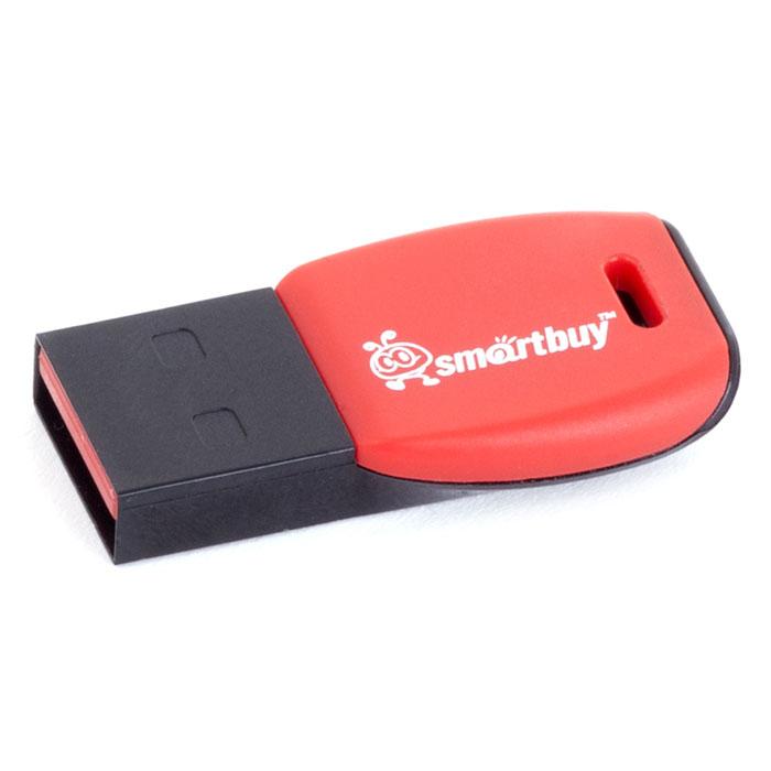 SmartBuy Cobra 8GB, Red USB-накопительSB8GBCR-KВ цифровую эру компактный флеш-накопитель - это ключ в цифровой мир, который предлагает бесконечные возможности сохранения памятных событий. Флеш-накопитель Smartbuy Cobra, по дизайну напоминающий ключ, можно подсоединить к брелоку с другими ключами, что позволит вам всегда свои воспоминания носить с собой. Совместима с: Windows 8/7/XP/2000/Vista, Mac OS 8.6 и Linux 2.4.0 (или выше)Уникальный дизайн в виде ключа