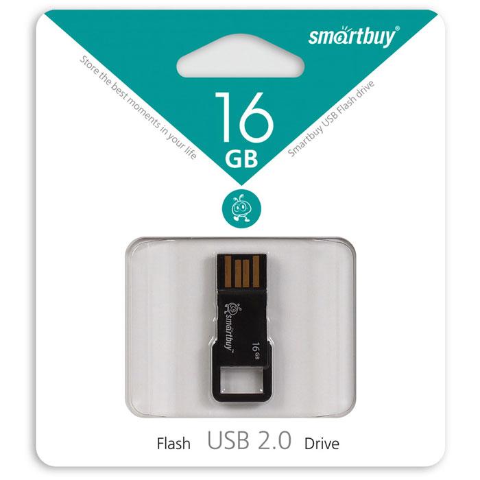 SmartBuy BIZ 16GB, Black USB-накопительSB16GBBIZ-KSmartBuy BIZ 16GB поможет вам сохранить большой объем информации различного типа. Для удобства ношения предусмотрено ушко, которое позволяет носить флешку с собой в качестве брелока на ключах.Пропускная способность интерфейса: 480 Мбит/секСовместим с: Windows 7, Windows 8, Windows Vista, Windows XP, Windows 2000, Linux, MAC OS X