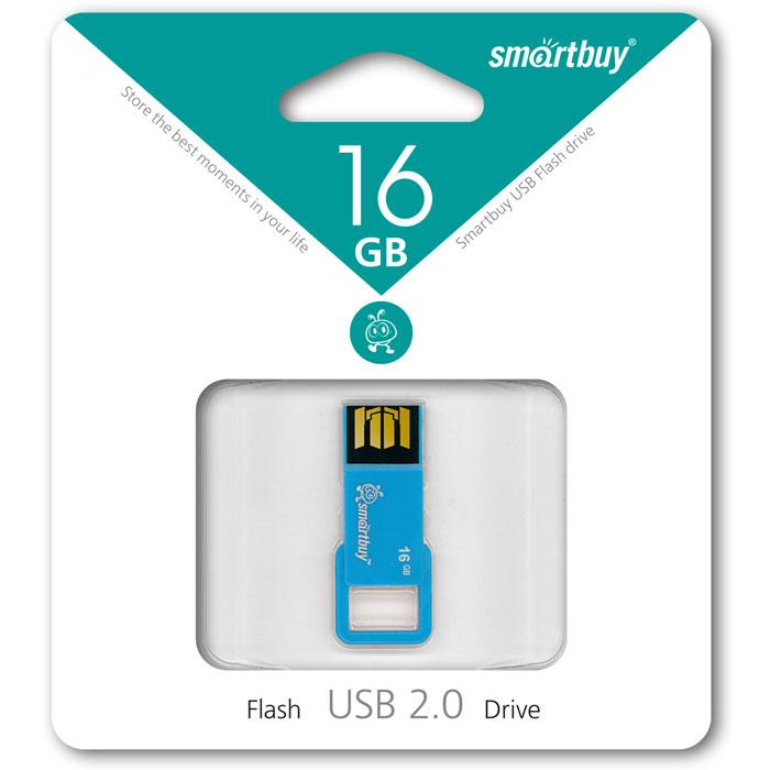 SmartBuy BIZ 16GB, Blue USB-накопительSB16GBBIZ-BlSmartBuy BIZ 16GB поможет вам сохранить большой объем информации различного типа. Для удобства ношения предусмотрено ушко, которое позволяет носить флешку с собой в качестве брелока на ключах.Пропускная способность интерфейса: 480 Мбит/секСовместим с: Windows 7, Windows 8, Windows Vista, Windows XP, Windows 2000, Linux, MAC OS X
