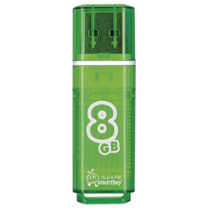 SmartBuy Glossy Series 8GB, Green USB-накопитель