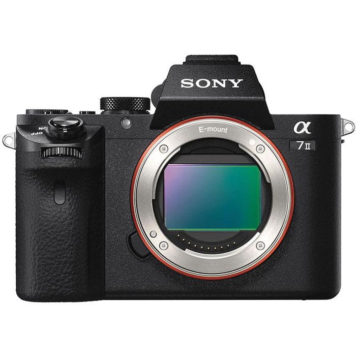 Sony Alpha A7 II (M2) Body, Black цифровая фотокамераILCE7M2B.CECКамера Sony Alpha A7 II значительно расширяет ваши возможности, компенсируя пять типов дрожания камеры при фото- и видеосъемке с рук. Высокоэффективная компенсация с шагом 4,5 позволяет вам уверенно приближать отдаленные объекты, снимать детализированные крупные планы или ночные сцены - и все это с минимальным размытием от сотрясения камеры.Совместимость с широкой линейкой сменных объективов:Новая 5-осевая стабилизация изображения позволяет наслаждаться непревзойденной свободой при съемке с рук с еще большим количеством сменных объективов. Короткий рабочий отрезок камеры 7 II с байонетом E повышает совместимость камеры с большим количеством объективов.Автоматическая оптимизация для каждого объектива:Камера 7 II анализирует данные с объектива, оптимизируя алгоритм формирования изображения и характеристики 5-осевой стабилизации изображения для каждого объектива, благодаря чему вы с уверенностью можете пользоваться любимыми объективами с байонетами E и A. При использовании объективов с байонетом E с оптической стабилизацией (OSS) камера 7 II совмещает мощные характеристики встроенной в корпус камеры системы стабилизации изображения со стабилизатором объектива.Быстрая и точная гибридная автофокусировка:Новая улучшенная система быстрой гибридной автофокусировки Fast Hybrid AF обеспечивает максимально высокую скорость реакции, высокую точность прогнозирования движения и широкую область автофокусировки для эффективного слежения за объектом в кадре. Скорость реакции автофокусировки на 30% быстрее, чем у предыдущей 7, что является впечатляющим достижением для камеры с полнокадровой матрицей. Это позволяет точно прогнозировать перемещение объекта и всегда держать его в фокусе и в кадре.Полнокадровая 35-мм матрица Exmor CMOS с разрешением 24,3 мегапикселя:Матрица обеспечивает великолепное качество изображения по всей площади кадра и невероятное 24,3-мегапиксельное разрешение. Вы сможете в полной мере оценить низк
