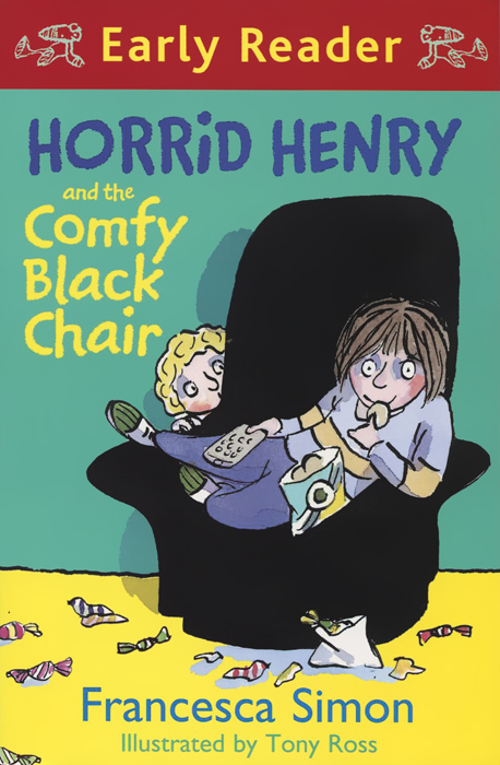 Horrid Henry and the Comfy Black Chair furniture shop chair wholesale and retail bar stool garden reception chair rose red green black ect color free shipping