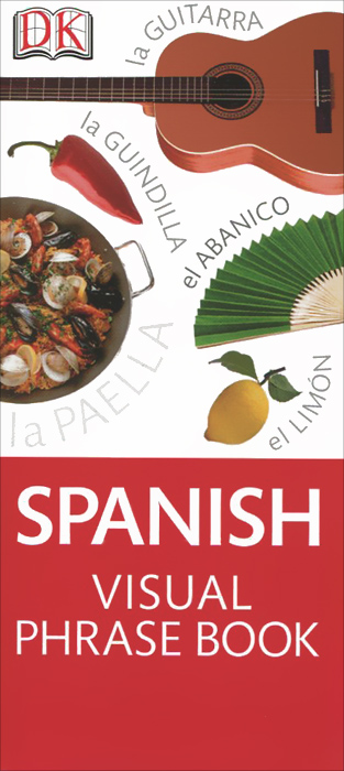 Spanish Visual Phrase spanish phrase book cd