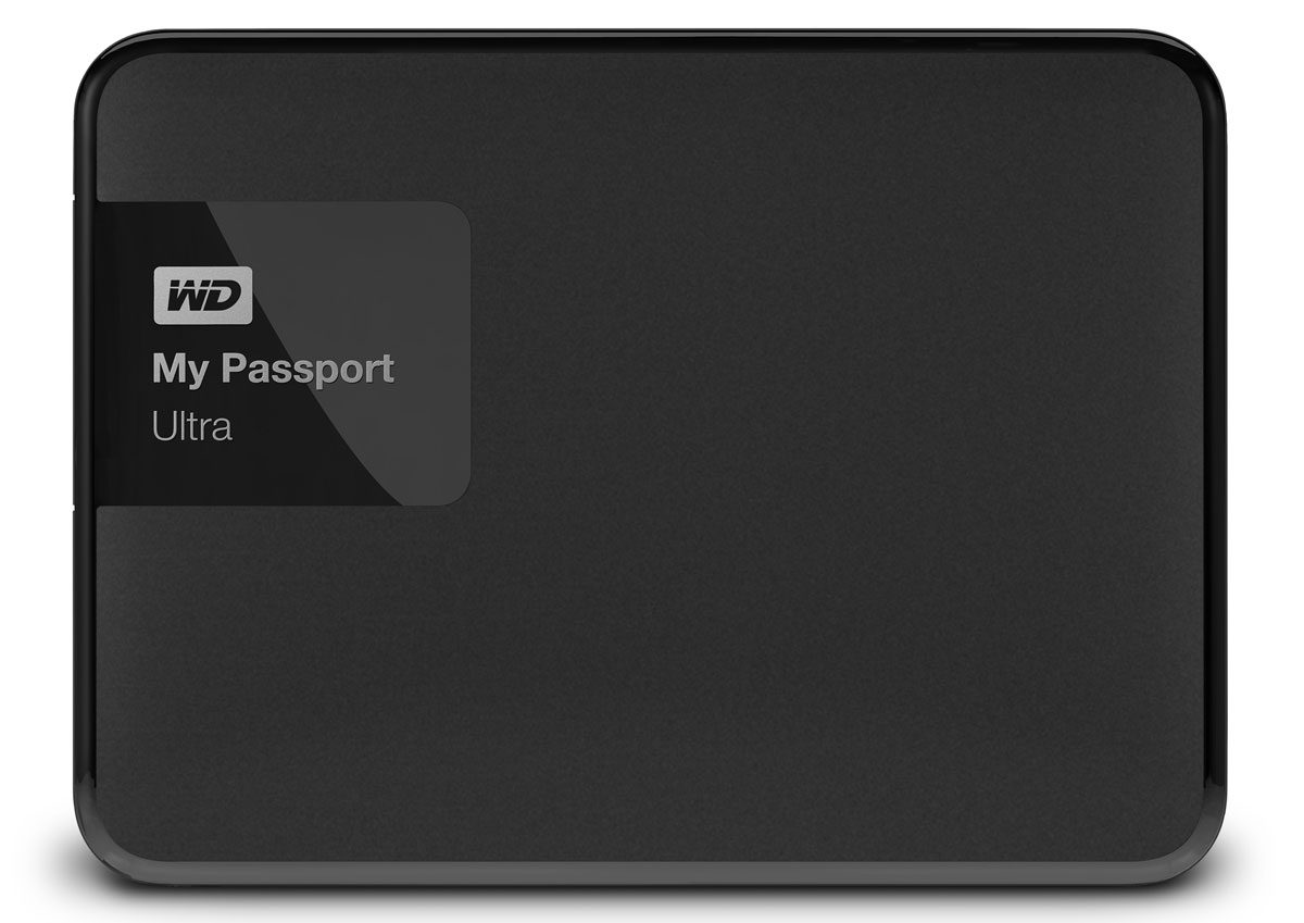 WD My Passport Ultra 500GB, Black внешний жесткий диск (WDBBRL5000ABK-EEUE) - Носители информации