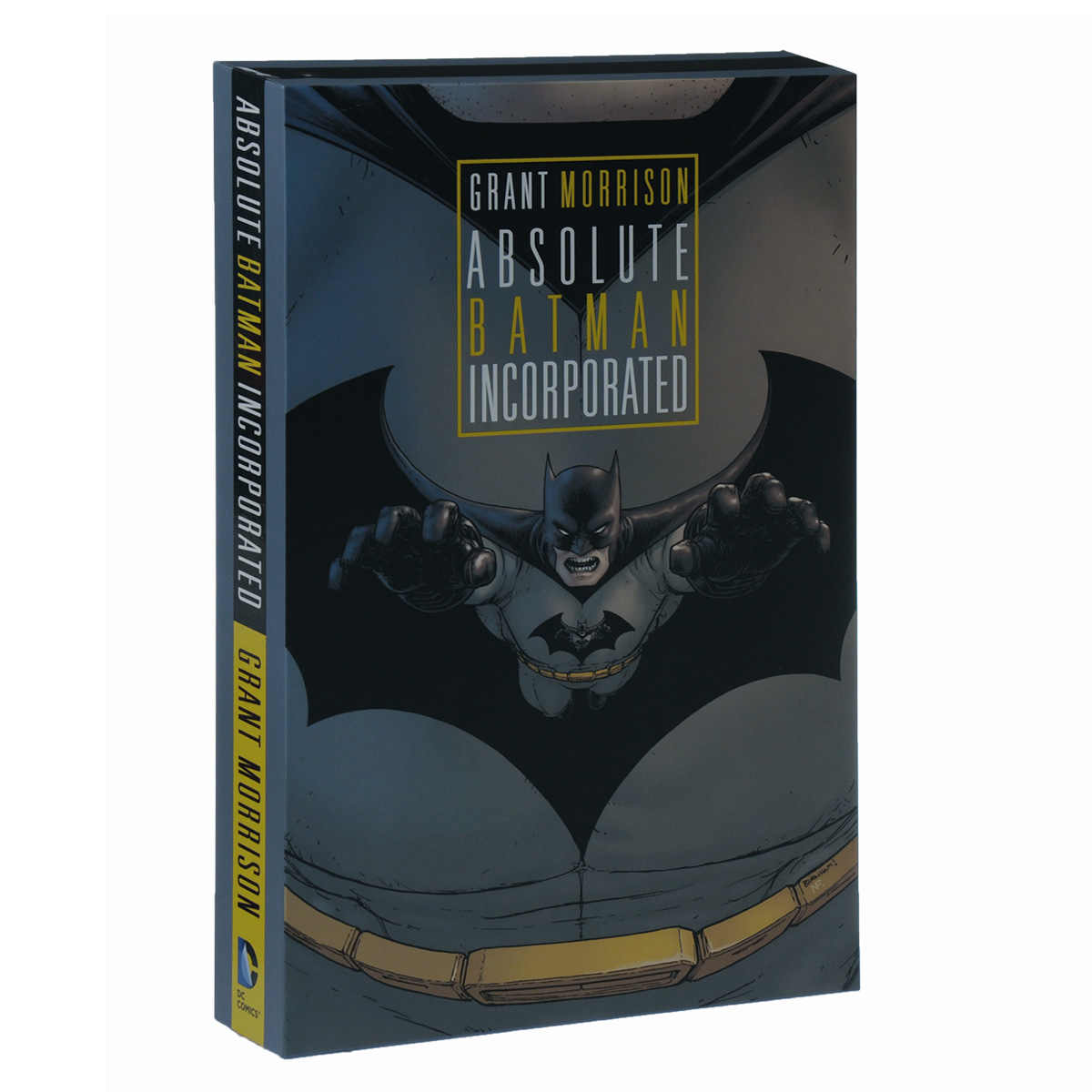 Absolute Batman Incorporated batman incorporated volume 1 deluxe
