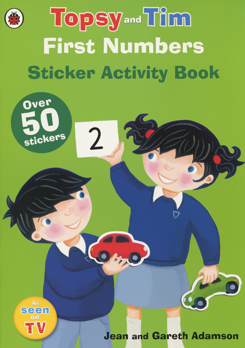 Topsy and Tim: First Numbers: Sticker Activity Book (+ наклейки) купить