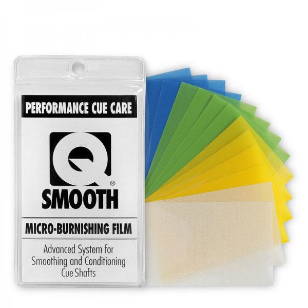 Набор микробумаги для полировки кия PCC  Q Smooth , 14 шт - Бильярд