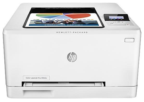 HP LaserJet Pro M252n лазерный принтер (B4A21A)B4A21AПечатайте высококачественные цветные документы, способные ускорить развитие вашего бизнеса, прямо в офисе. Печатайте быстрее — данный принтер способен переходить из спящего режима в рабочий быстрее любой другой модели в этом классе.Для отправки заданий печати с большинства смартфонов и планшетов не потребуются специальные приложения. Откройте для своих сотрудников преимущества прямой беспроводной печати с мобильных устройств без подключения к корпоративной сети.Оригинальные цветные лазерные картриджи HP увеличенной емкости, поддерживающие технологию JetIntelligence, обеспечивают максимальную производительность. Оригинальный тонер HP ColorSphere 3, разработанный специально для принтеров HP, гарантирует профессиональное качество и высокую скорость печати.Устройство поставляется уже готовым к работе и содержит предварительно установленные лазерные картриджи. При необходимости их можно заменить на специальные картриджи увеличенной емкости.Защищайте данные и управляйте устройствами с помощью пакета, в который входят ключевые средства для обеспечения безопасности и контроля. Встроенный сетевой интерфейс Ethernet обеспечивает удобство настройки, печати и обмена файлами.Струйный или лазерный принтер: какой лучше? Статья OZON Гид
