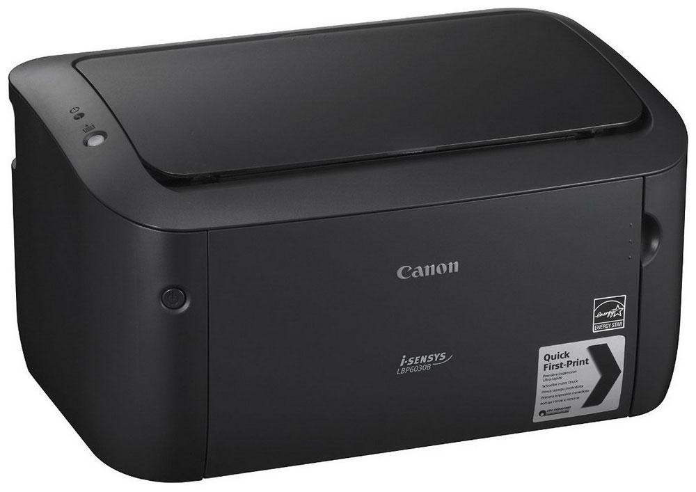 Canon i-Sensys LBP6030B, Black принтер8468B006Canon i-SENSYS LBP6030B Быстрый, компактный и энергоэффективный черно-белый лазерный принтерДоступный и компактный черно-белый лазерный принтер предназначен для персонального использования или небольшого офиса. Этот бесшумный и надежный принтер обладает повышенной энергоэффективностью и позволяет получать быстрые высококачественные результаты при низком уровне энергопотребления.Струйный или лазерный принтер: какой лучше? Статья OZON Гид