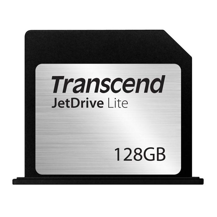 Transcend JetDrive Lite 350 128GB карта памяти для MacBook Pro (Retina) 15TS128GJDL350Transcend JetDrive Lite 350 - это простой и удобный способ снабдить свой MacBook дополнительный объемом памяти, не увеличивая вес компьютера.Чтобы моментально увеличить объем доступной дисковой памяти MacBook, необходимо лишь вставить карту JetDrive Lite в слот кардридера на боковой поверхности корпуса компьютера. Максимальная скорость считывания и записи карт JetDrive Lite может достигать 95 МБ/с и 60 МБ/с, соответственно. Эти карты идеально подходят для резервного копирования с помощью утилиты Time Machine, для хранения библиотек iTunes, а также для решения любых других схожих задач.Карты памяти Transcend JetDrive Lite имеют обтекаемый дизайн, который разрабатывается для каждой из моделей MacBook в отдельности, что позволяет выглядеть как органичный элемент корпуса компьютера. Все покупатели карт расширения памяти JetDrive Lite получают право на бесплатную загрузку эксклюзивного программного обеспечения Transcend JetDrive Toolbox, которое позволяет восстанавливать случайно удаленные изображения, видео, MP3 и PDF файлы всего за несколько кликов мышью.Карты флэш-памяти JetDrive Lite изготовляются с использованием технологии COB (chip-on-board), которая делает их ударопрочными, пыле- и влагонепроницаемыми. Поэтому, какие бы приключения ни выпали на долю вашего MacBook, карты JetDrive Lite надежно уберегут вашу ценную цифровую информацию.Карты JetDrive Lite специально проектировались для использования с компьютерами MacBook Air и MacBook Pro и дисплеем Retina. Они поставляются в четырех различных форм-факторах, которые идеально соответствуют размерам слотов кардридеров различных моделей этих компьютеров. На фото № 6 приведена таблица совместимости карт памяти.Тип памяти: MLCРабочее напряжение: 2,7 - 3,6 ВДолговечность: 10000 циклов установки/извлечения