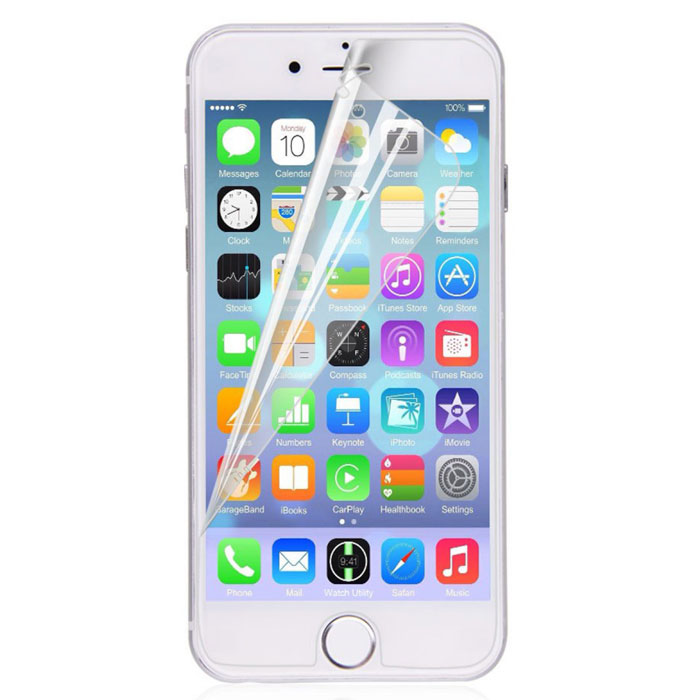 Harper SP-M IPH6P защитная пленка для Apple iPhone 6 Plus, матоваяSP-M IPH6PМатовая защитная пленка Harper SP-M IPH6P для Apple iPhone 6 Plus. Изготовлена из многослойного материала РЕТ. Защищает экран от царапин и влаги, не деформируется со временем и не искажает изображение.В комплект входит все необходимое для установки пленки.