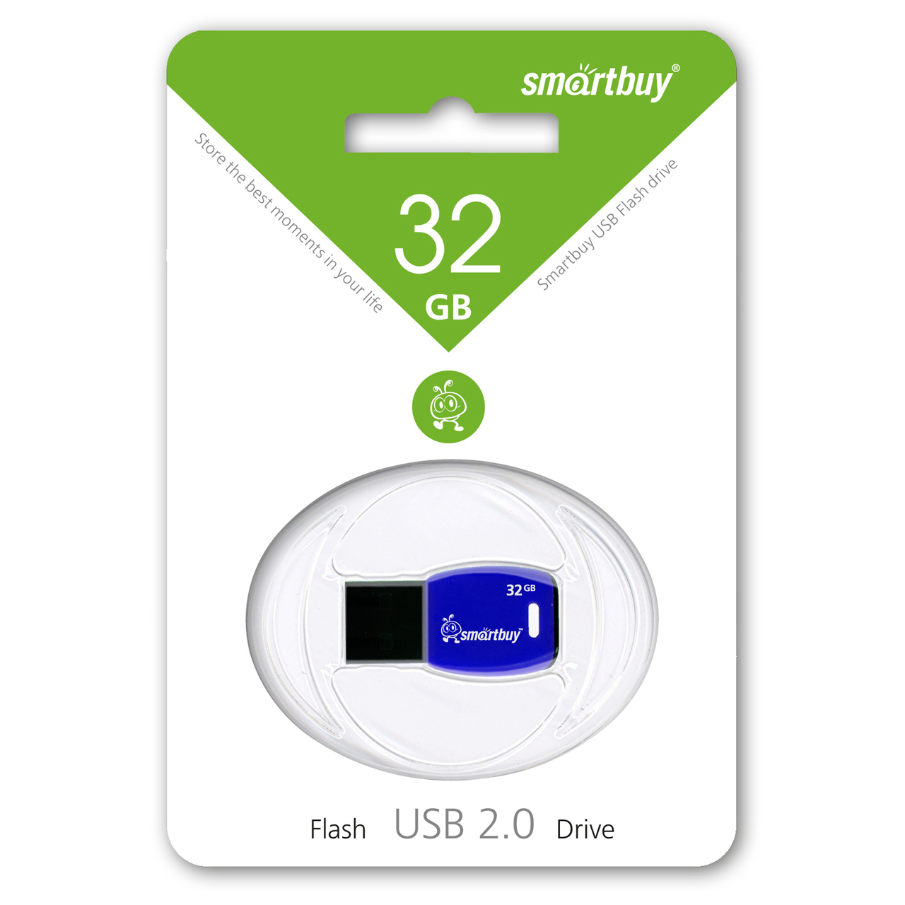 SmartBuy Cobra 32GB, Dark Blue USB-накопитель - Носители информации