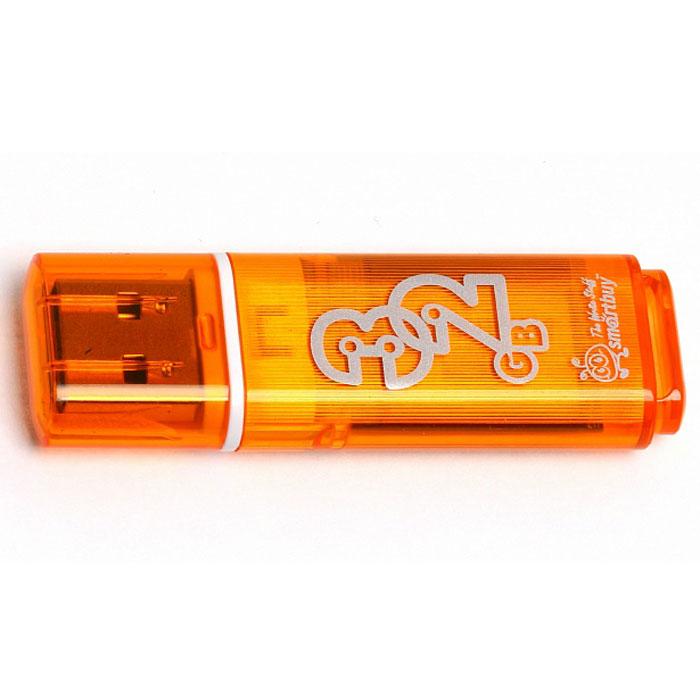 SmartBuy Glossy Series 32GB, Orange USB-накопитель - Носители информации