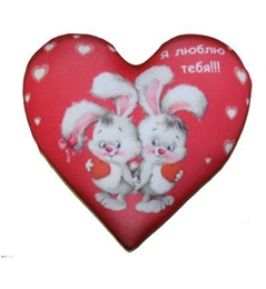 Сердце-антистресс Я Люблю Тебя Д26 см смолтойс игрушка антистресс миньон