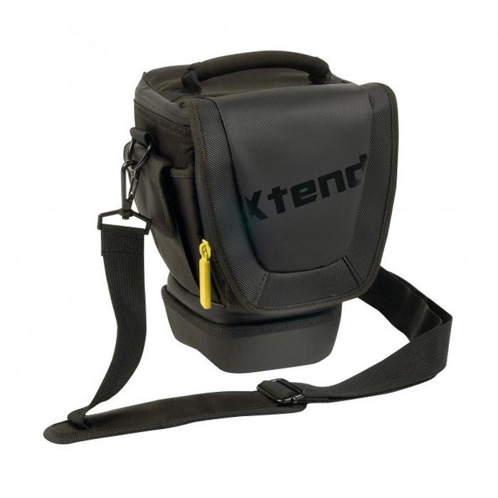 TNB DCCXTENDR, Black сумка для фотоаппаратаDCCXTENDRTNB DCCXTENDR - надежная и удобная сумка для зеркальных фотокамер с объективами от 18-55 мм до 18-200 мм. Изготовлена из водоустойчивого материала, эта сумка защитит вашу фототехнику от непогоды и механических повреждений.