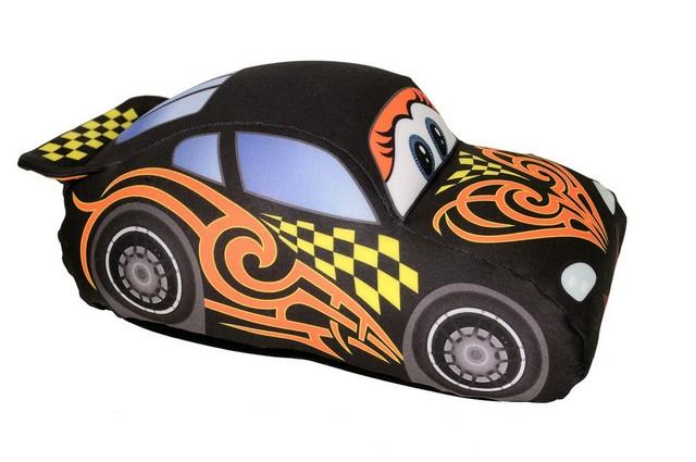СмолТойс Игрушка-антистресс Гоночная машинка цвет: черный 33 x 23 см антистрессовые игрушки в уфе