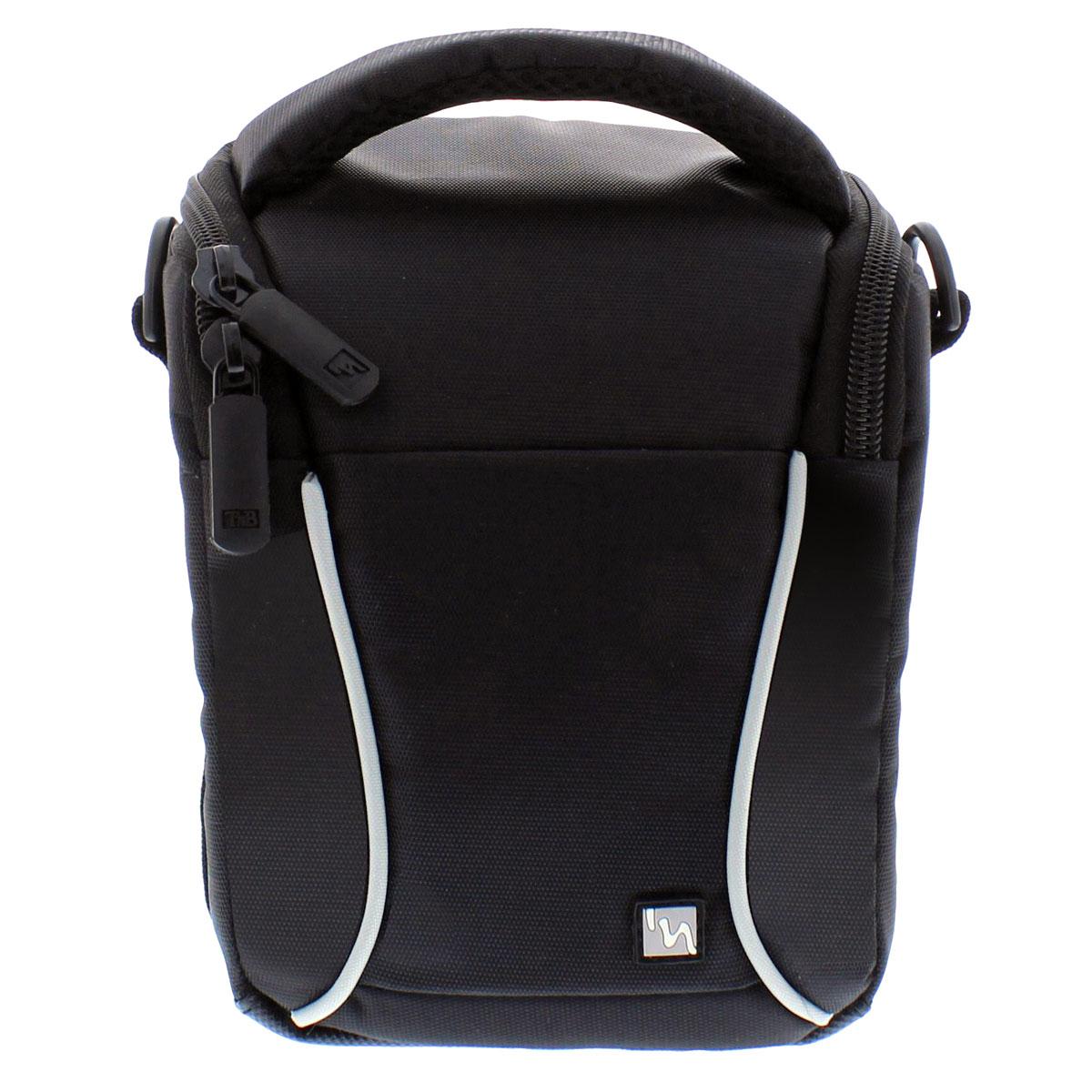 TNB DCCOS1B, Black сумка для фотоаппаратаDCCOS1BНадежная и удобная сумка TNB DCCOS1B для зеркальных фотокамер защитит вашу технику от непогоды и механических повреждений. Изготовлена из водоустойчивого материала. Имеет передний карман для аксессуаров.