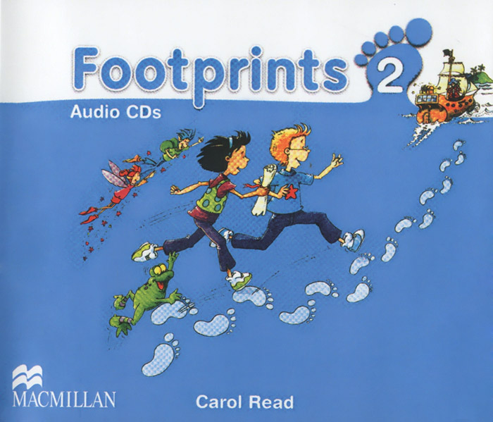 Footprints 2 (аудиокурс на 3 CD) cd диск swallow the sun songs from the north i ii iii 3 cd