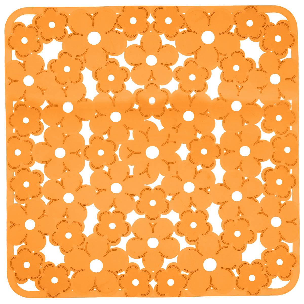 Коврик для раковины Metaltex, цвет: оранжевый, 32 х 32 см28.75.38Коврик для раковины Metaltex изготовлен из ПВХ с цветочным рисунком. Коврик имеет квадратную форму, поэтому прекрасно подойдет для любых раковин. Такой коврик защитит вашу посуду во время мытья, а также предотвратит засор труб, задерживая остатки пищи.Товар сертифицирован.
