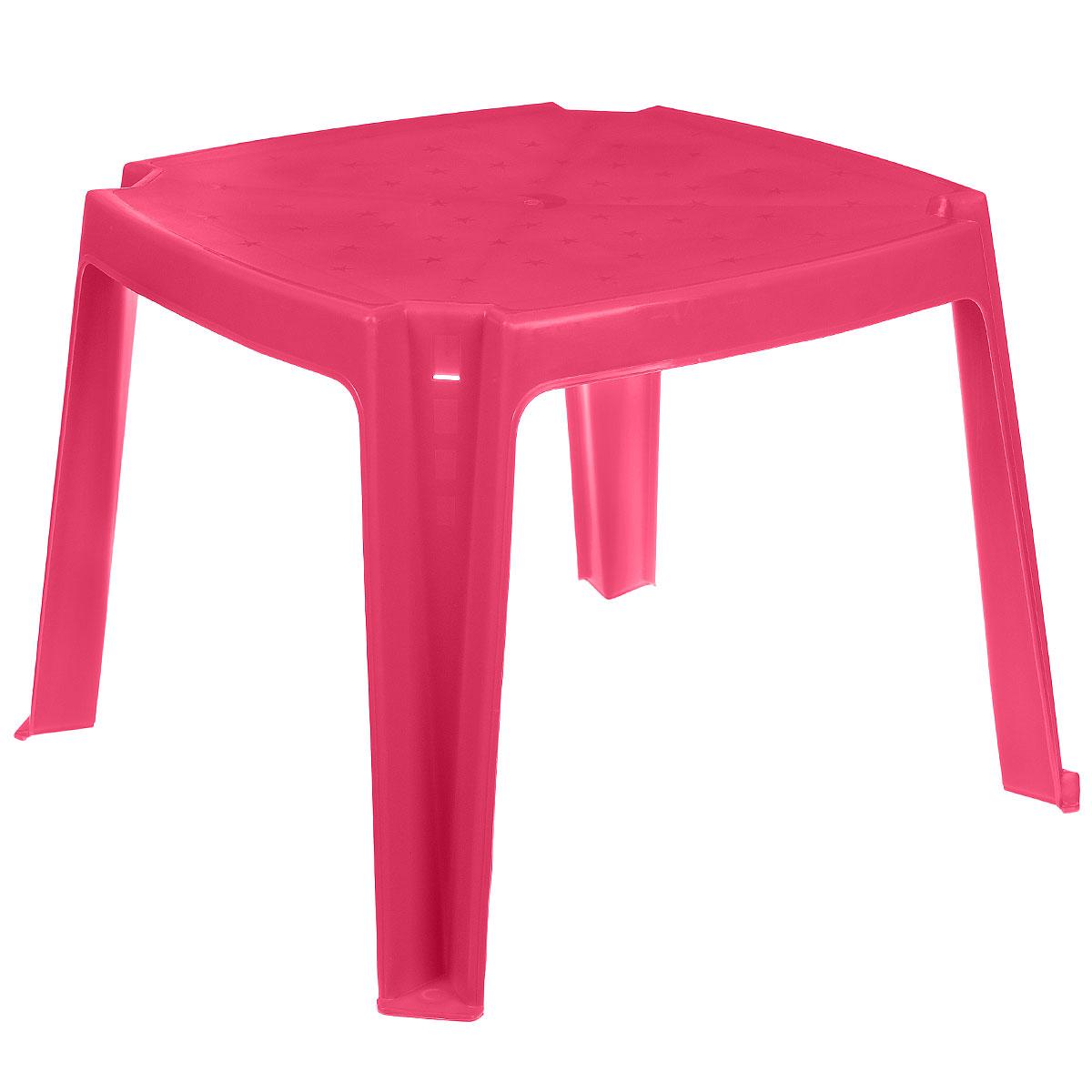 Стол детский PalPlay, с карманами, цвет: розовый, 53 см х 53 см364_розовыйУдобный детский столик PalPlay необходим каждому ребенку. За столиком ребенок может играть, заниматьсятворчеством. Изделие, изготовленное из прочного, но легкого пластика, оснащено удобными кармашками дляхранения различных предметов.Теперь умалыша будет отдельный столик, который идеально подойдет ему по размеру и он сможет приглашать начаепитие своих друзей, в том числе и плюшевых, а также заниматься творческой работой: рисовать, лепить,раскрашивать. Высота стола: 43 см.Размер столешницы: 53 см х 53 см.