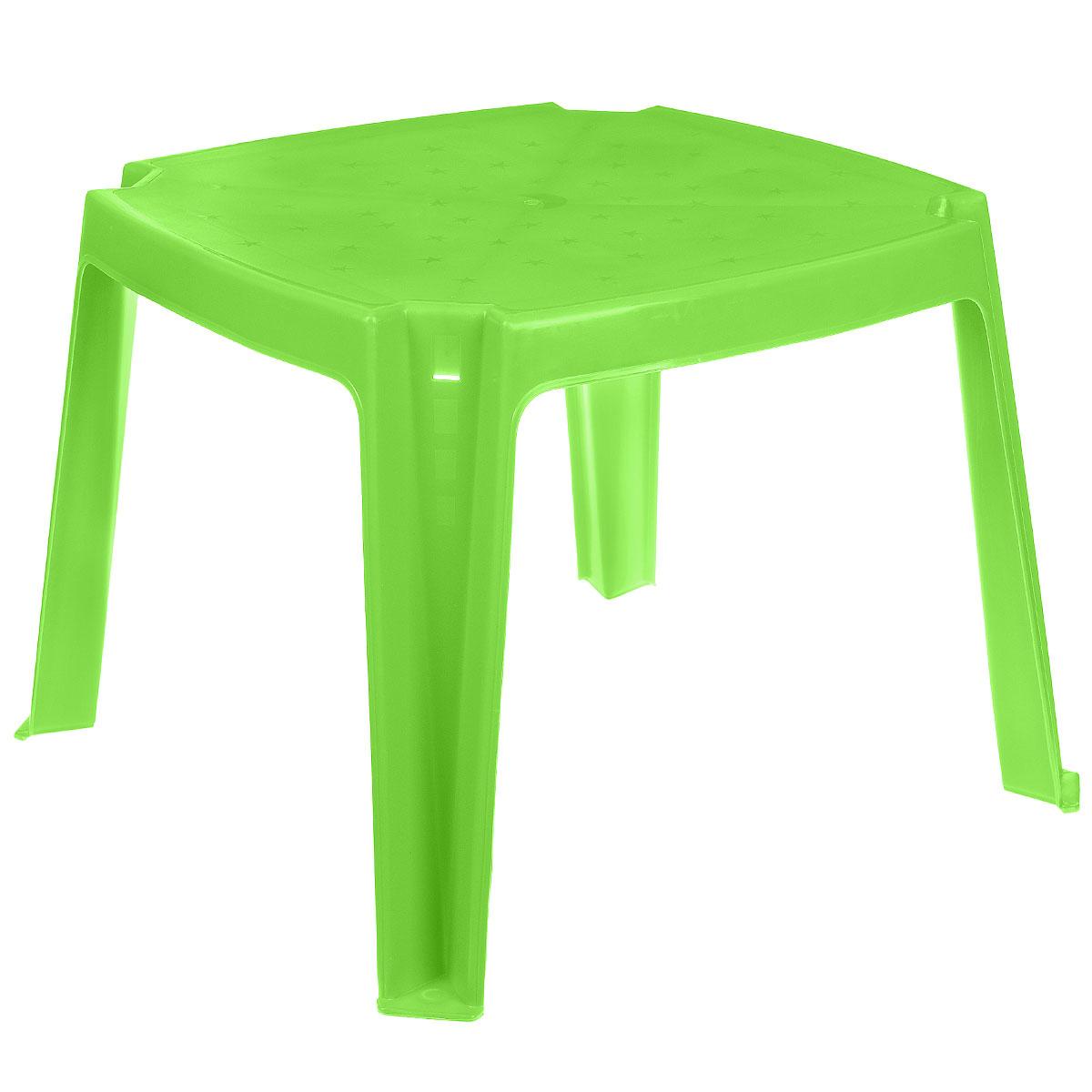 Стол детский  PalPlay , цвет: салатовый, 53 см х 53 см - Детская комната