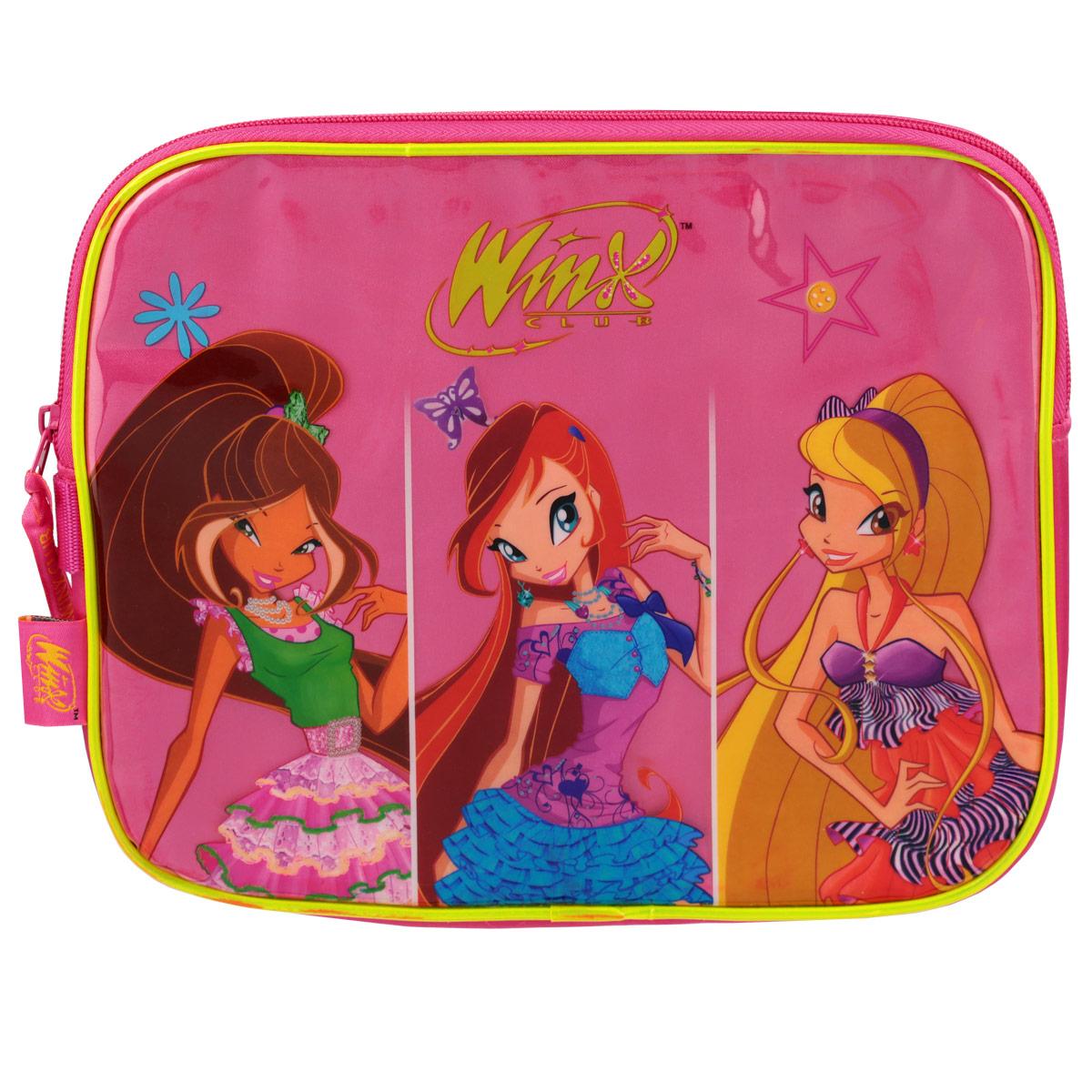 Сумочка детская для IPad Winx Club, цвет: розовый. 62596 winx club сумка детская 62462