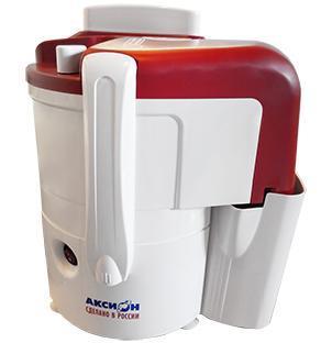 Аксион Джус СЦ32.01 соковыжималкаСК Аксион 32.01 ДжусАксион СЦ 32 соковыжималка на каждый день. Данная модель станет хорошим вариантом для тех людей, которые хотят всегда потреблять свежие напитки. Благодаря защите от случайного включения работать с прибором безопасно, а такая особенность как прорезиненные ножки обеспечивает комфорт при использовании.