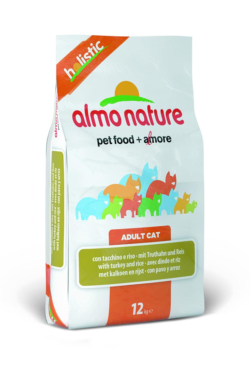 Корм сухой Almo Nature для взрослых кошек, с индейкой и рисом, 12 кг20059Корм Almo Nature, предназначенный для взрослых кошек,содержит большой процент свежей индейки, что обеспечиваетнеобходимое количество питательных веществ. Прекрасный вкусобеспечивается за счет свежих натуральных ингредиентов.Корм сохраняет свои свойства за счет натуральных антиоксидантов. Оптимальное количество калорийспособствует сохранению нормального веса. Состав: мясо индейки и ее производные 53% (из которых 14% свежего мяса), злаки (рис 14%, ячмень), растительный протеиносодержащий экстракт, жиры, минералы, маннанолигосахариды, фруктоолигосахариды. Гарантированный анализ: белки - 30%, клетчатка - 1,5%, жиры - 15%, зола - 8%, влажность - 7%.Товар сертифицирован..