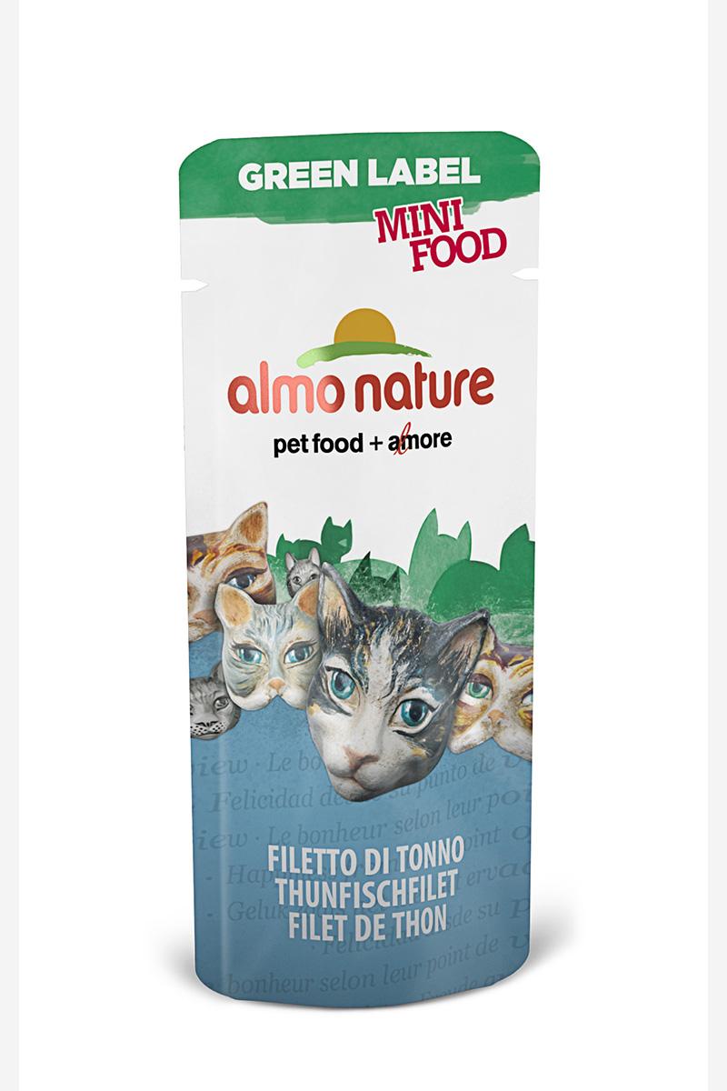 Лакомство для кошек Almo Nature Green Label, филе тунца, 3 г22599Лакомство для кошек Almo Nature - это филе без искусственных добавок, красителей. Именно такой простой и естественный состав привлекает кошек. Лакомство идеально подходит для поощрения вашей кошки в интервалах между трапезами.Состав: филе тунца - 99%, рис - 1%.Товар сертифицирован.Чем кормить пожилых кошек: советы ветеринара. Статья OZON Гид