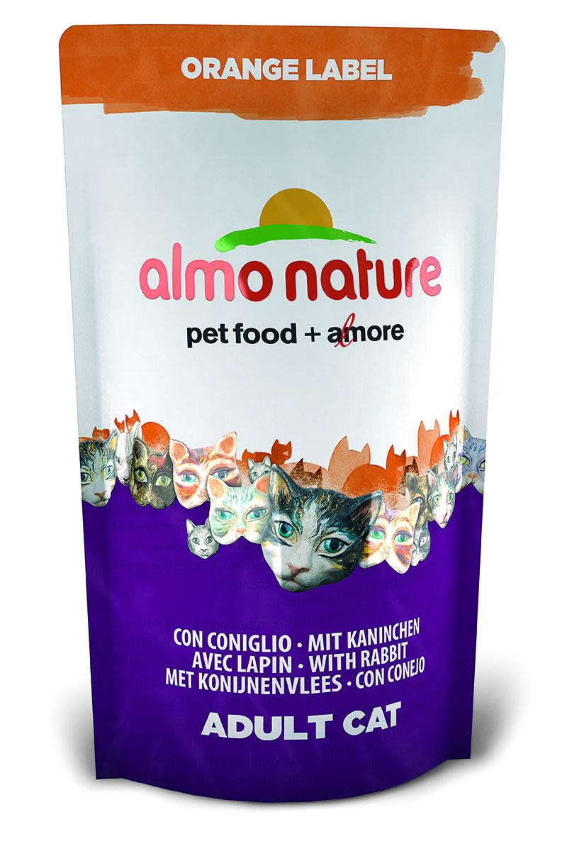 Корм сухой Almo Nature Orange label для кастрированных кошек, с кроликом, 750 г23238Полнорационный корм Almo Nature Orange label рекомендован для кастрированных кошек. Корм содержит большой процент свежего мяса, что обеспечивает необходимым количеством питательных веществ и оптимальным содержанием протеина. Прекрасный вкус обеспечивается за счет свежих натуральных ингредиентов. Не содержит искусственных добавок, красителей, ароматизаторов, консервантов. Состав: мясо кролика и его производные 48% (из которых 25% свежего мяса и 16% дегидрированного мяса), злаки, масла и жиры, экстракт растительного белка, дрожжи, минералы, субпродукты растительного происхождения.Питательные добавки: таурин 0,6 г/кг, L-карнитин 0,1 г/кг, витамин D3 244 МЕ/кг, витамин Е 122 мг/кг, витамин С 61 мг/кг.Микроэлементы: железо 8 мг/кг, медь 0,1 мг/кг, цинк 49 мг/кг, марганец 0,4 мг/кг.Гарантированный анализ: белки – 31,7%, клетчатка – 0,9%, жиры – 16%, зола – 7%, влажность 8%.Калорийность – 3743 ккал/кг.Товар сертифицирован.
