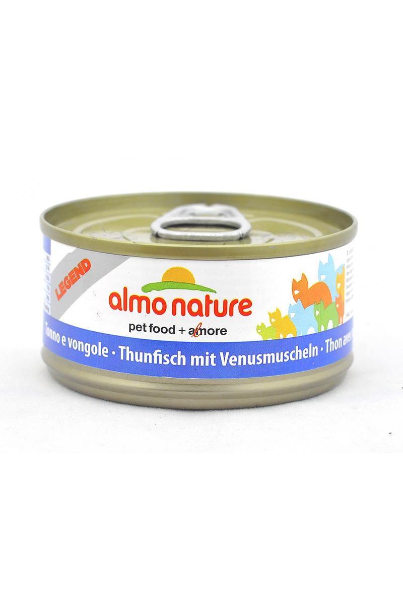 Консервы Almo Nature, для кошек, с тунцом и моллюсками, 70 г24175Консервы Almo Nature - супер-премиум корм для кошек, в банках, сохраняющих свежесть каждого кусочка. Корм изготовлен только из свежих высококачественных натуральных ингредиентов, что обеспечивает здоровье вашей кошки. Не содержит ГМО, антибиотиков, химических добавок, консервантов и красителей.Состав: тунец 70%, рыбный бульон 24%, моллюски 5%, рис 1%.Пищевая ценность: белки 18%, клетчатка 0,1%, масла и жиры 0.5%, зола 2%, влажность 79%.Товар сертифицирован.