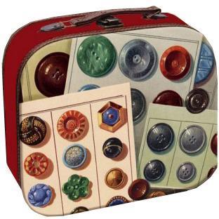 Декоративная шкатулка Пуговицы, 25 х 20,5 х 9 см37354Мы продаем самые разные шкатулки, но их объединяет одно – они очень красивые и оригинальные. Материал: мдф.
