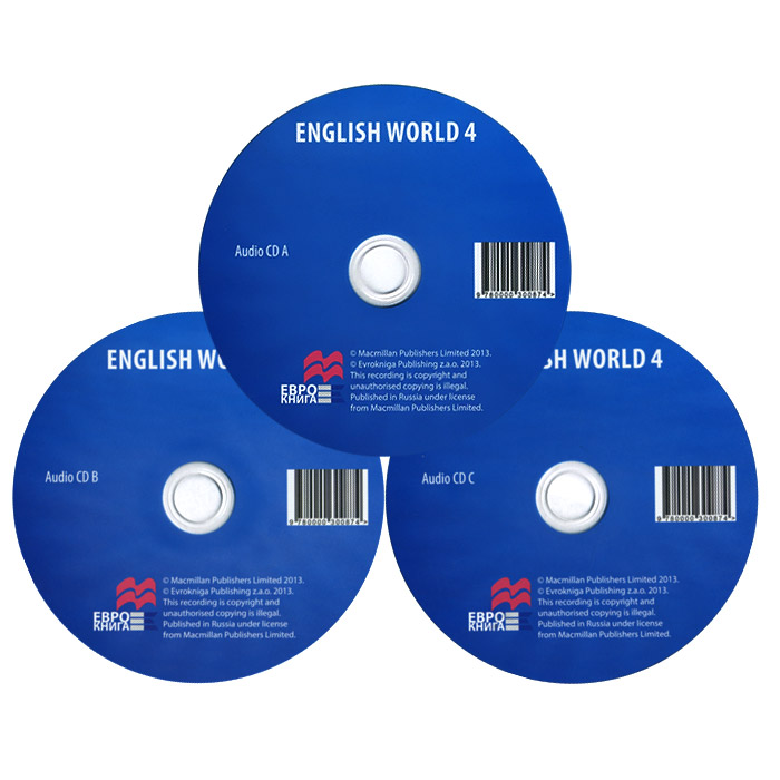English World 4 (аудиокурс на 3 CD) цена